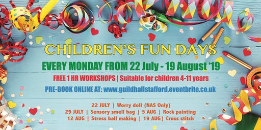 Children's Summer Funday - Rock Painting