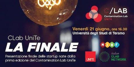 Finale DemoDay #01 edizione Contamination Lab - Università di Teramo biglietti