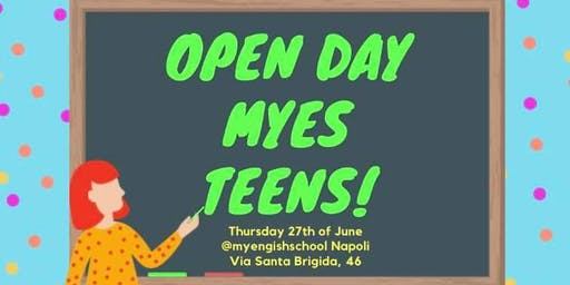 Open Day MyEs Teens