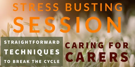 HARLOW STRESS BUSTING SESSION 1 tickets