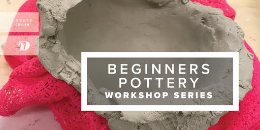 Beginners Pottery - July Aug 2019