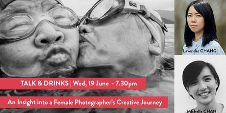 Talk+Drinks | An insight into female photographers' journey tickets