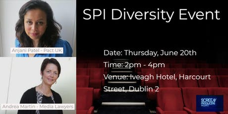 Screen Producers Ireland Diversity Event tickets