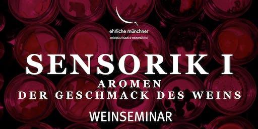 Weinseminar – Sensorik II – Foodpairing – Harmonie von Wein und Speisen