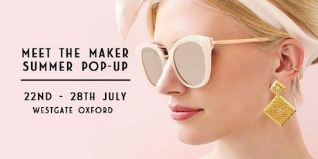 JewelStreet 'Meet The Maker' Pop-up Shop tickets