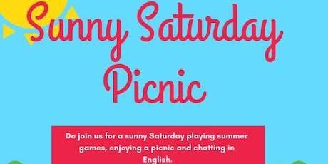 Sunny Saturday Picnic & games tickets