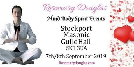Rosemary Douglas Events : Mind, Body and Spirits September 2019 tickets