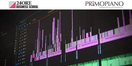 Corso Montaggio Video (Adobe Premiere) biglietti