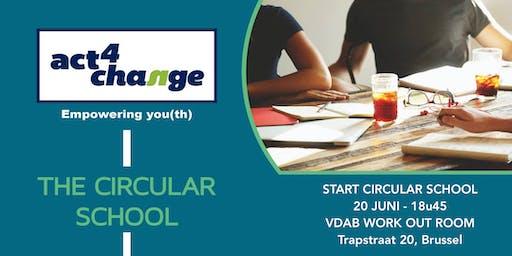 Start Circular School - start evenement van Circular School