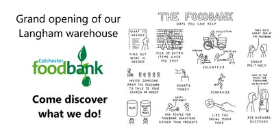 Grand opening of Colchester Foodbank\