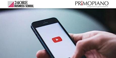 Corso YouTube Marketing biglietti