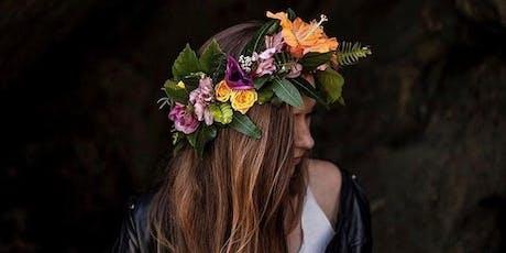 Flower Crown Making Workshop tickets