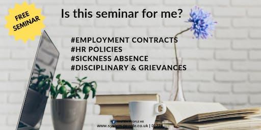FREE HR Seminar - HR Essentials