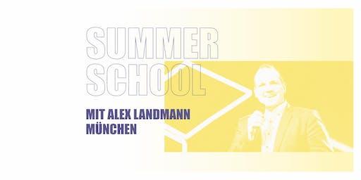 SUMMER SCHOOL MÜNCHEN 2019