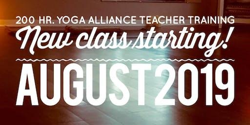 Yoga Alliance 200 Hr. Teacher Training Orientation
