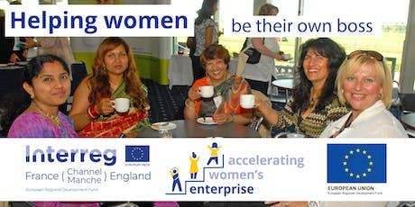 Outset Accelerating Women's Enterprise - Starting a Business - Liskeard tickets