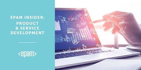 EPAM INSIDER: Product & Service Development  tickets