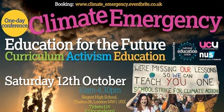 Education for the Future: Climate Emergency Conference tickets
