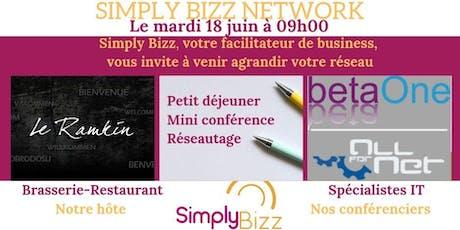 Simply Bizz Network 18 juin 2019 billets