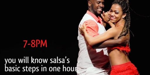 book your SALSA CLASS WEDNESDAYS w/ Earl Rush & FREE Party with DJ Joe Falero @ Mix Bar & Grill