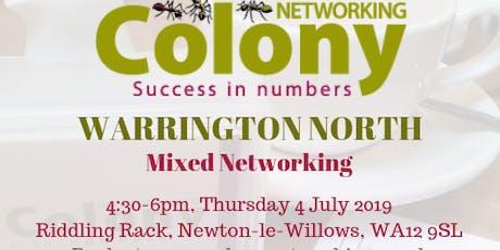 Colony Networking (Warrington North) tickets