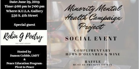 Minority Mental Health Awareness Campaign Project tickets