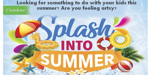 Splash Into Summer: Childrens' Paint Party Series