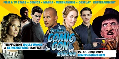 German Comic Con München 2019 Tickets