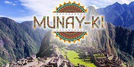 Curso Munay-Ki - Iniciações Incas - Lisboa bilhetes