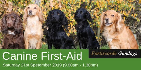 Canine First-Aid Course tickets