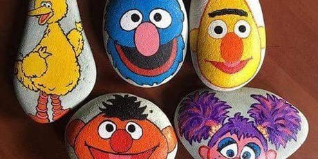 Rock painting Friockheim adults and children tickets
