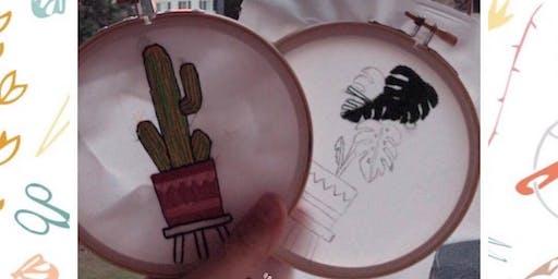 Botanical Embroidery Workshop