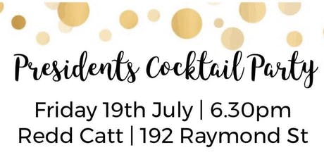 SBTA Presidents Cocktail Party tickets