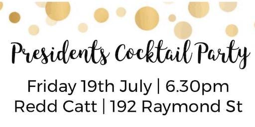 SBTA Presidents Cocktail Party