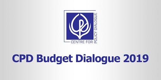 CPD Budget Dialogue 2019