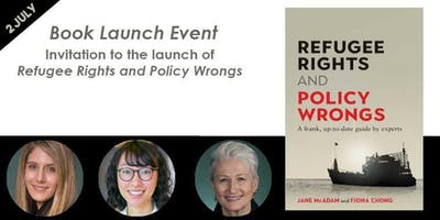 Invitation to the launch of Refugee Rights and Policy Wrongs
