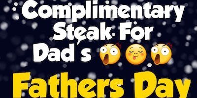 Live Music Sundays & 1 Complimentary Steak For Fathers
