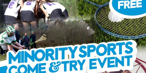 Minority Sports Come & Try Event - 18th November