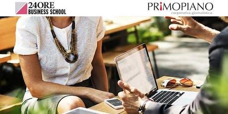 Corso Social Media Management per la P.A. biglietti