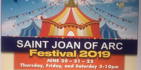 St. Joan of Arc Parish Festival tickets