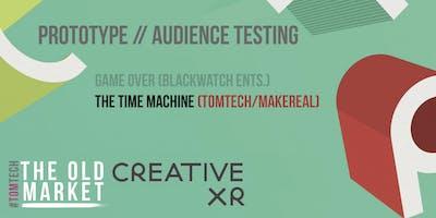 CreativeXR: Prototype Audience Testing [THE TIME MACHINE] (2/2)