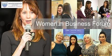 Women In Business - Chamber Networking Forum tickets
