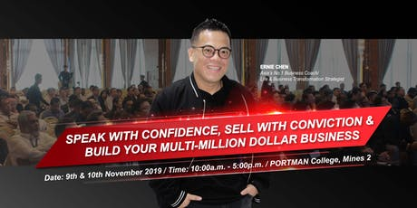 SPEAK WITH CONFIDENCE, SELL WITH CONVICTION & BULD YOUR MULTI-MILLION DOLLAR BUSINESS tickets