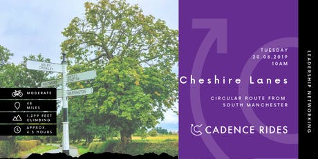 Cadence Rides - Cheshire Lanes Cycling Networking Event tickets
