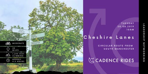 Cadence Rides - Cheshire Lanes Cycling Networking Event