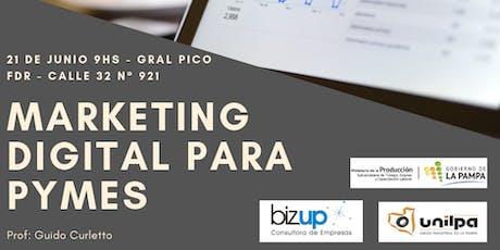 Marketing digital para pymes entradas