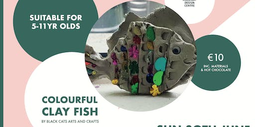 KDC Kids Club Colourful Clay Fish Workshop (5-11yr olds) Class B