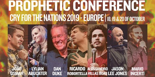 Prophetic Conference: Cry for the Nations - Europe 19