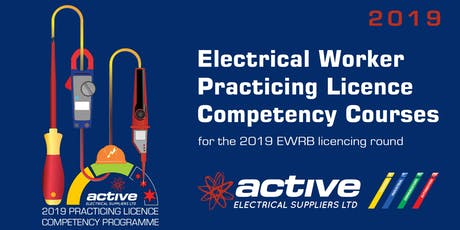 Electrical Workers Competency Programme by Active Electrical - Palmerston North tickets