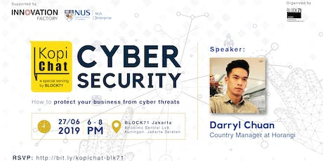 Kopi Chat: How To Protect Your Business From Cyber Threats tickets